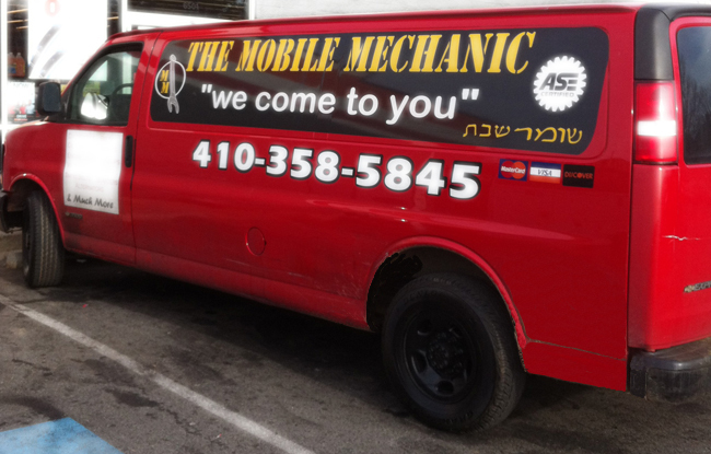 About Us - Baltimore Mobile Mechanic - Shomer Shabbos ...